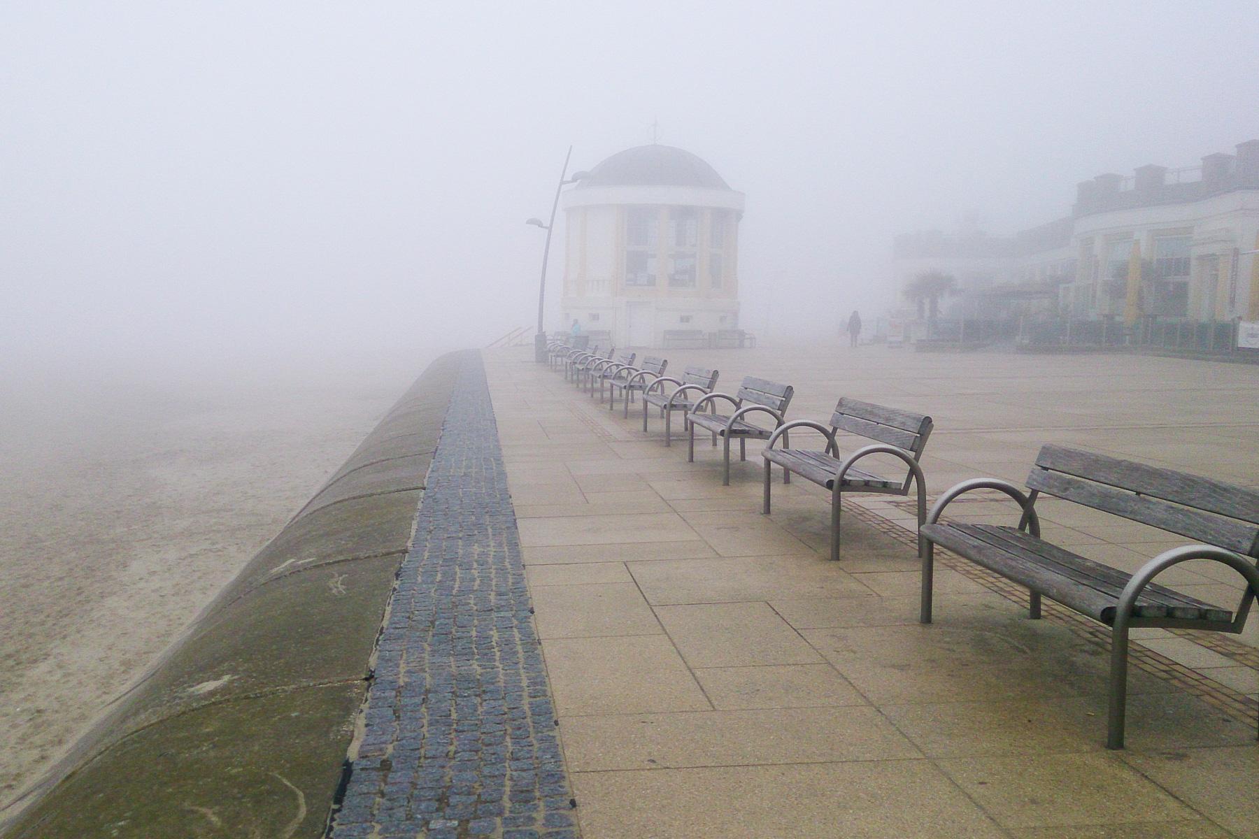 borkum im nebel