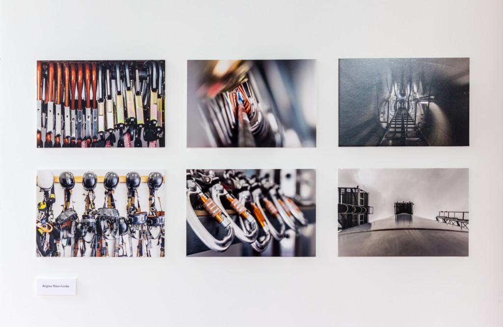 höhe - height, ausstellung_wand_01, künstlerische dokumentarfotografie