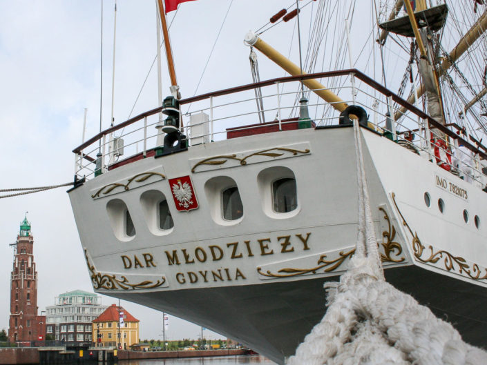 Dar Mlodziezy bei der festwoche 2009 in bremerhaven