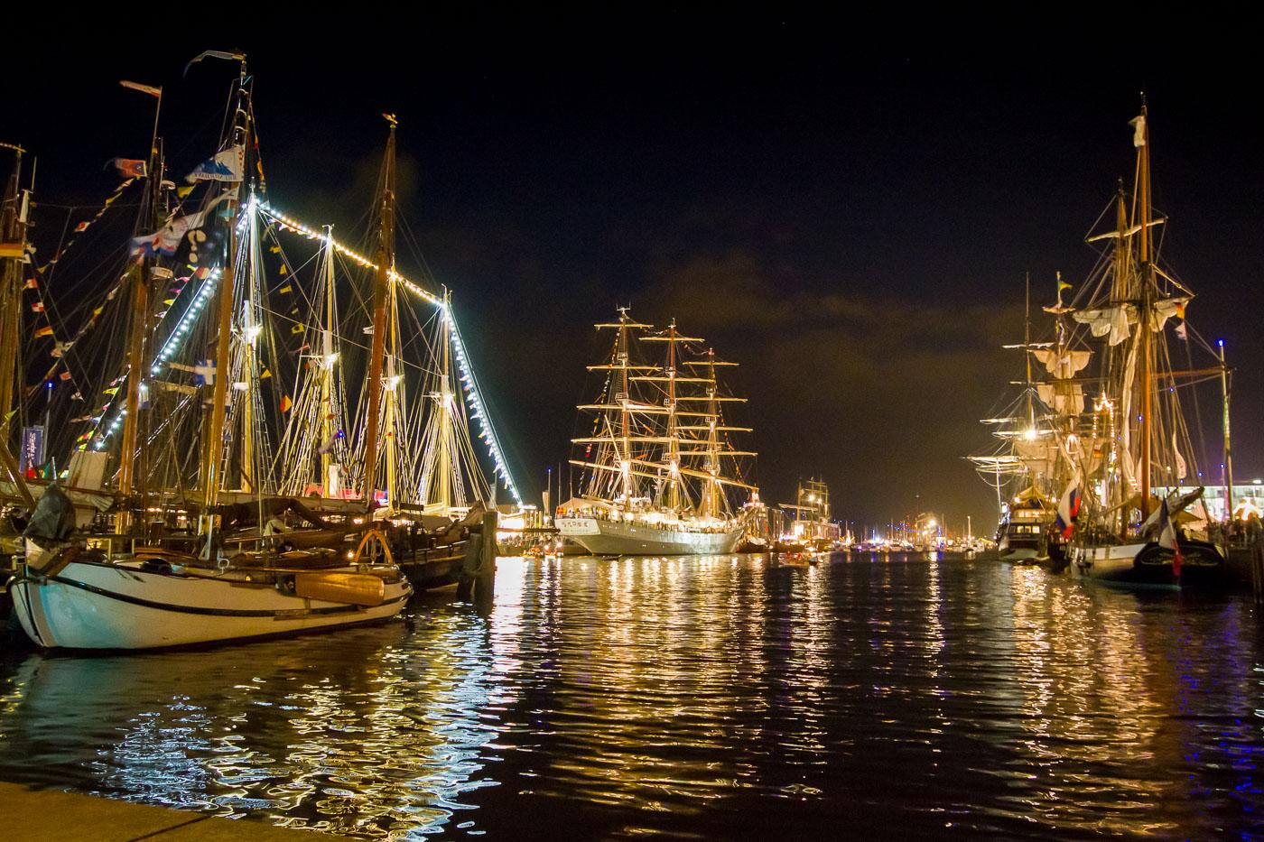 Dar Mlodziezy bei der sail 2010 in bremerhaven