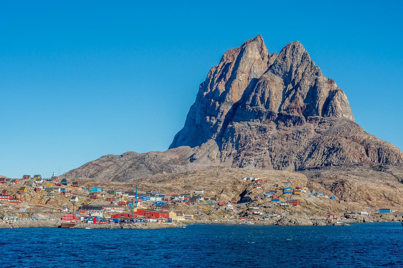 uummannaq - der berg ist namensgeber. uummannaq bedeutet 'robbenherz'