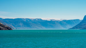 kangerlussuaq fjord and iceshield