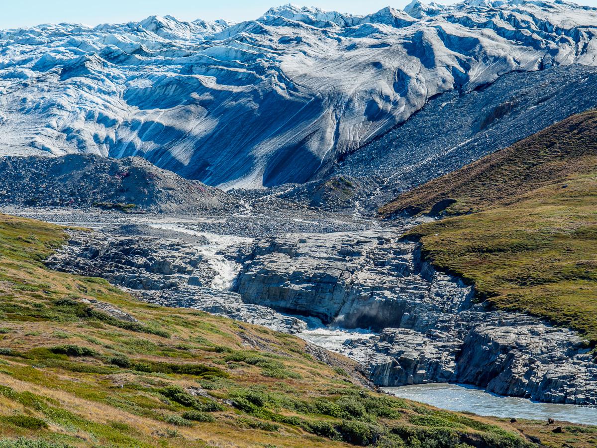russell glacier, greenland - urzeitlandschaft/primeval landscape