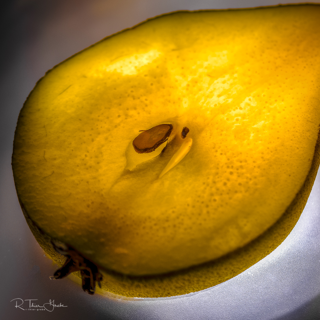 birne - pear